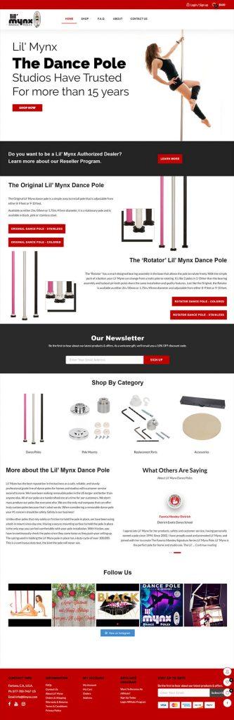 dance pole website
